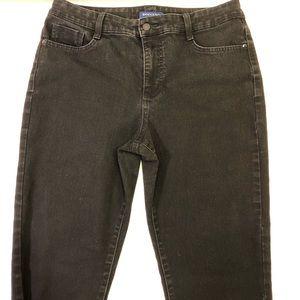 Bandolino Amy women's jeans black high rise